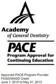 Academy of General Dentistry: Pace: Program Approval for Continuing Education